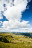 Parang mountains in Romania. Beautiful landscape from Parang mountains in Romania, in a summer day Royalty Free Stock Images