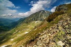 Parang mountains in Romania Stock Photo