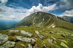 Parang mountains in Romania Royalty Free Stock Image