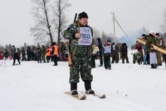 Hunting Biathlon Royalty Free Stock Images