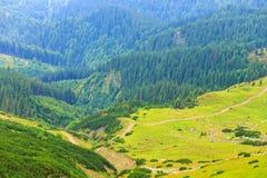 Parangbergen, Roemenië royalty-vrije stock afbeeldingen