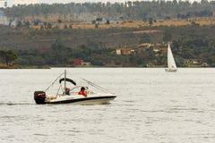Paranoa Lake in Brasilia Brazil Royalty Free Stock Images