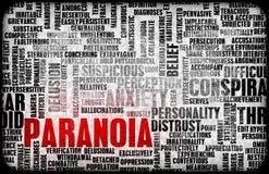 Paranoia royalty illustrazione gratis