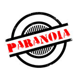 Paranoia rubber stamp Royalty Free Stock Image