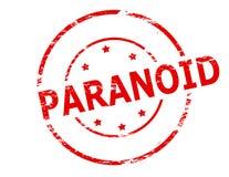 paranoid illustrazione di stock