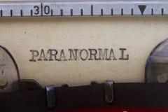Paranormal Imágenes de archivo libres de regalías