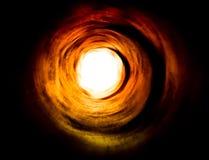 Paranormal. Túnel a la luz de otro mundo Imagenes de archivo