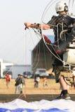 Parapente Photographie stock libre de droits