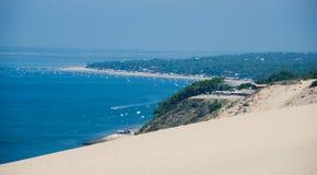 Parapente em França Fotografia de Stock Royalty Free