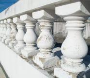 Parapet blanc Images stock