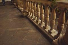 Parapeto de piedra Fotos de archivo libres de regalías