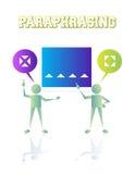 paraphrasing Stock Image