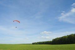 Paraplane Royalty-vrije Stock Afbeeldingen