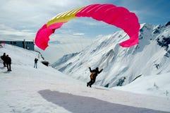 Paraplane aktivity Royalty Free Stock Photos