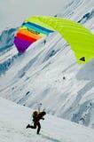 Paraplane aktivity Stock Image