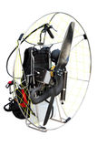 The paraplane engine Stock Photo