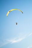 Paraplane in the sky. Paraplane flying in the sky Stock Photography