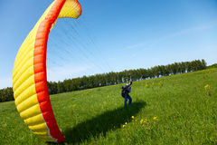 Paraplanerist Stock Photography