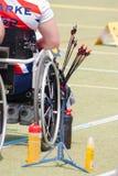 Paraplegic archers Stock Images