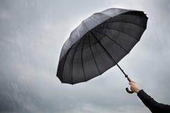 Paraplu (beschermingsconcept) Royalty-vrije Stock Fotografie
