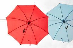 Paraplu in de hemel stock fotografie