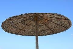 Paraplu op het Strand royalty-vrije stock afbeelding