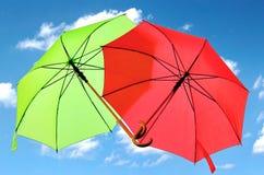 paraplu's stock fotografie
