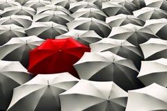 Paraplu's stock illustratie