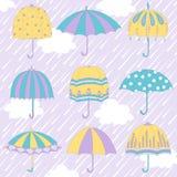 paraplu's Royalty-vrije Stock Foto