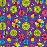 Parapluachtergrond Royalty-vrije Stock Foto's
