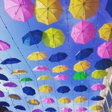 Parapluart. Royalty-vrije Stock Afbeelding