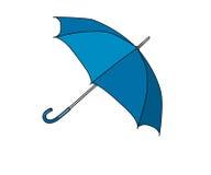 Paraplublauw Royalty-vrije Stock Afbeelding