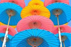 Parapluie asiatique de style images stock