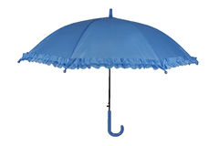Parapluie bleu Photos libres de droits