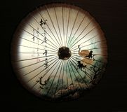 Parapluie chinois d'Oilpaper photos libres de droits