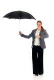 Parapluie d'agent d'assurance Images stock