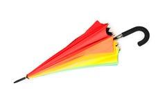 parapluie d'isolement coloré photographie stock libre de droits