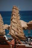 Parapluie dans le vent Photographie stock libre de droits