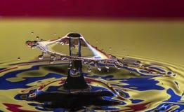 Parapluie dans les multicolors Photo stock