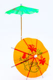 Parapluie de cocktail Photos stock