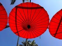 Parapluie de fantaisie de Sankamphang Photo libre de droits
