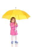 parapluie de fille Image stock