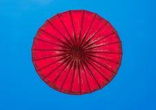 Parapluie de papier Photographie stock libre de droits
