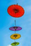 Parapluie de papier Photographie stock