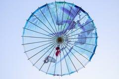 Parapluie de papier Photos libres de droits