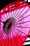 Parapluie de papier chinois Photos stock