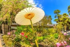 Parapluie de papier japonais photo libre de droits