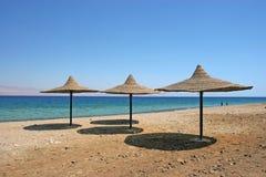 Parapluie de plage Image stock