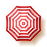 Parapluie de plage Photographie stock