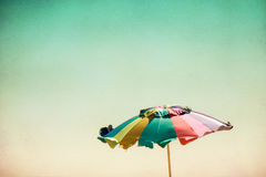 Parapluie de plage Photo stock